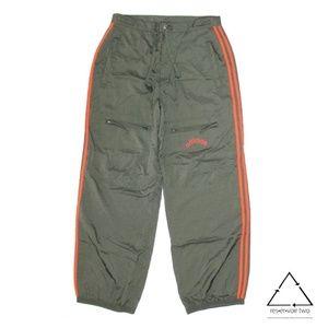 Adidas Nylon Cargo Stripe Windbreaker Pants